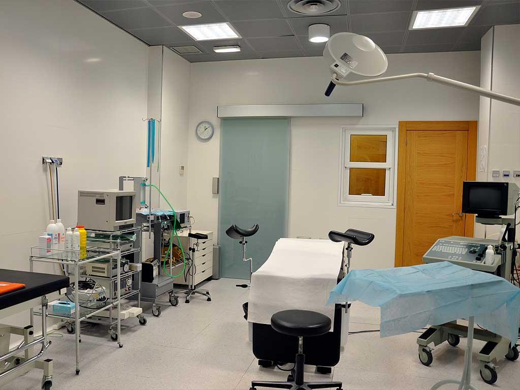 Zona quirúrgica - Alquiler de quirófano en Gijón