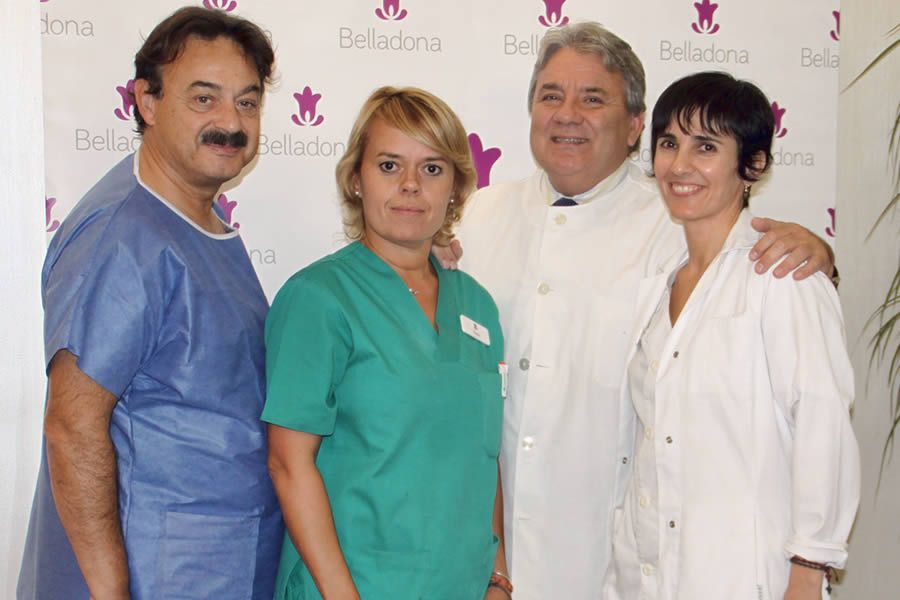 Equipo de trabajo Clinica Belladona
