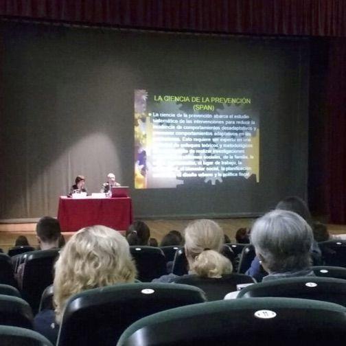 """XXV Jornada municipal sobre drogas. """"De la droga a las adicciones"""" 2019."""