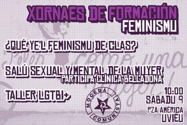 jornadas feminismo formacion Jornadas de formación - Feminismo