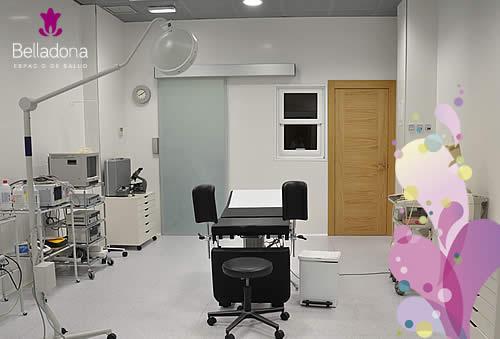 Quirófano equipado para realizar intervenciones de cirugía ambulatoria